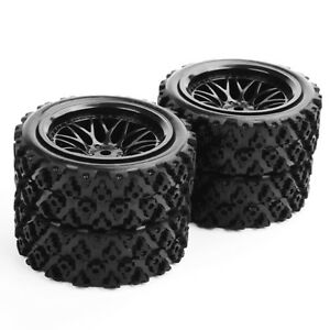 4x1-10-12mm-Hex-RC-Rally-Racing-Rubber-Tire-Wheel-Rims-Set-For-HSP-Off-Road-Car