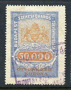 Budapest, Hungary Municipal Rev - Documentary - 1923 - Barefoot #75 - 50,000K
