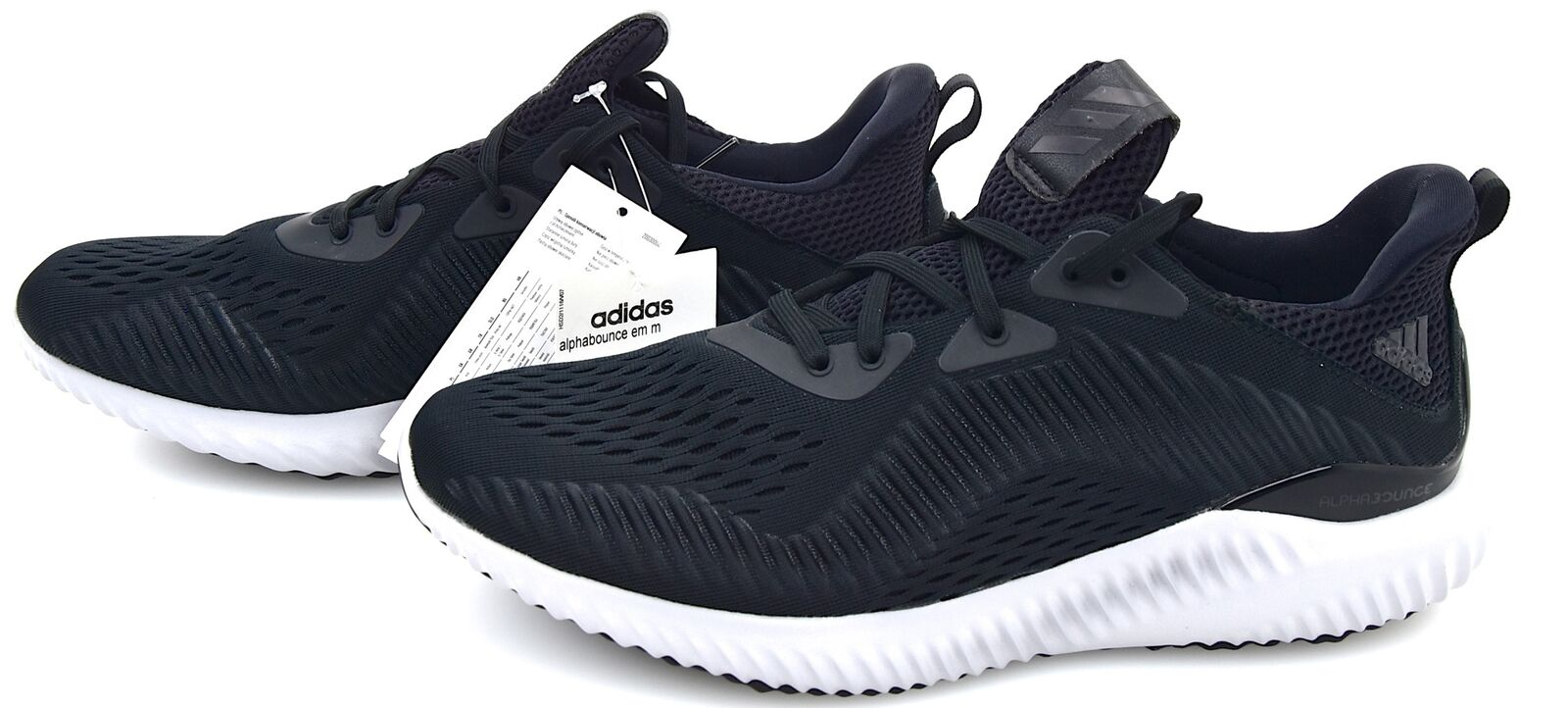 ADIDAS MAN SPORTS SNEAKER RUNNING SHOES FREE TIME CODE BY4264 ALPHABOUNCE EM M