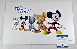 BRET-IWAN-034-MICKEY-MOUSE-034-SIGNED-METALLIC-11X17-PHOTO-DISNEY-BECKETT-BAS-COA-131