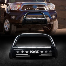 For 05 15 Toyota Tacoma Bull Bar Brush Push Front Bumper Grill Guard Withled Light