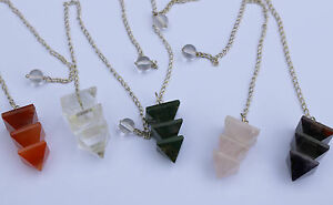 Triple-Stacked-Pyramid-Dowsing-Pendulum-New-Age-Wicca-Reiki