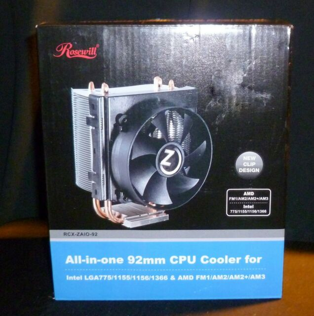 92mm Rosewill Sleeve Bearing CPU Cooler RCX-Z90-AL