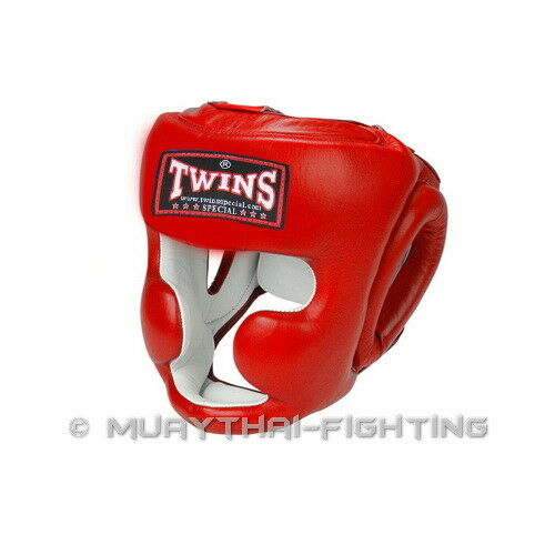 Twins Special Muay Thai Boxing Kick Boxing MMA Headgear Head Guard S M L XL