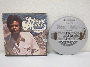JOHNNY-MATHIS-I-039-m-Coming-Home-3-IPS-4-Track-Reel-To-Tape-1973-Columbia-1R16108