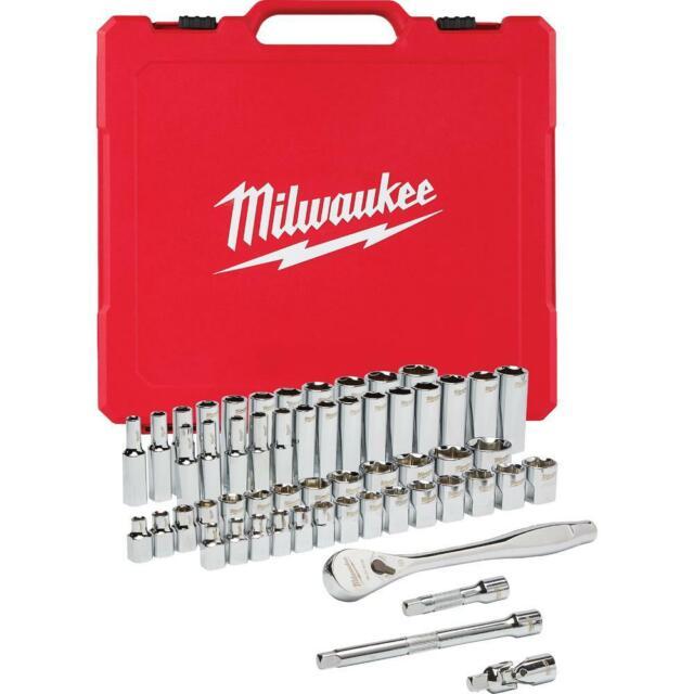 CRAFTSMAN 137pc 1//4 3//8 1//2 Dr SAE/&METRIC MM 6pt Only Ratchet Wrench Socket Set