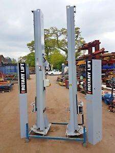 5000Kgs-Rotary-2-Post-Baseless-SP054-Vehicle-Lift-2014