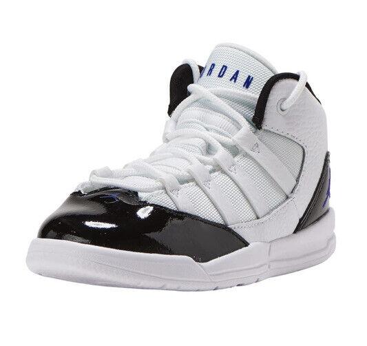 Toddler Size 10c Nike Air Jordan Max Aura Basketball Shoes Concord White Black