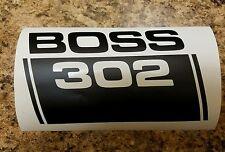 Boss 302 Mustang diecut decal Free shipping