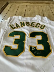 Jose-Canseco-Autographed-Signed-Jersey-FSG-Oakland-Athletics-A-s-Bash-Bros