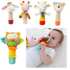 Soft Cute Animal Handbells plush Squeeze Rattle Cute Newborn Baby Toy Kids Gift