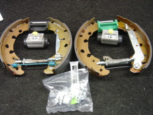 FORD PUMA 1.7 16V 2000 ON BRAKE SHOES ADJUSTERS CYLINDERS SHOE FITTING KIT ABS