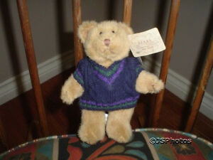 Russ Bears From The Past # 1790 Jointed Handmade Wtags
