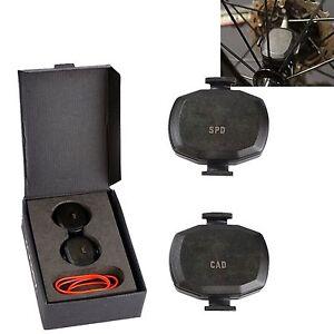 Wireless-Bike-Ant-Speed-amp-Cadence-Sensor-Set-For-Garmin-Edge-25-510-520-810-820