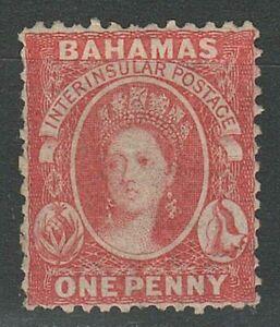 Bahamas 1875 1d ☀ Perf 12,5 ☀ MH og