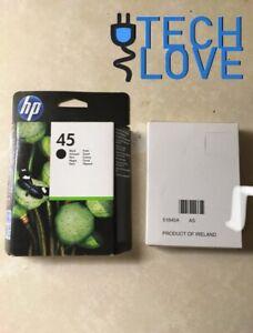 x2 cartouches d'encre HP 45 Black 51645A env 930 pages