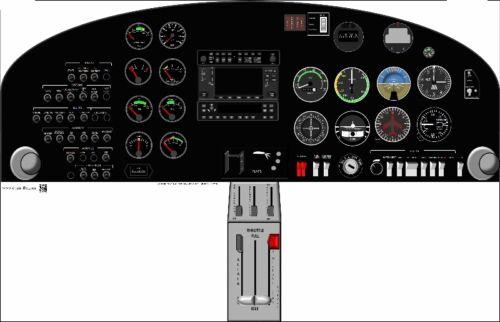 DA20 Cockpit Poster US Air Force Version
