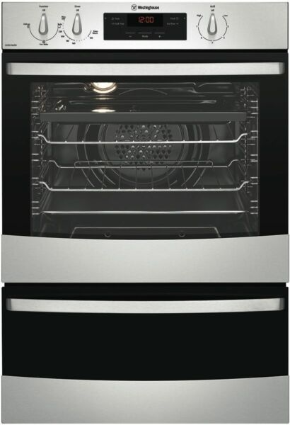 Westinghouse 60cm Fan Forced Natural Gas Wall Oven
