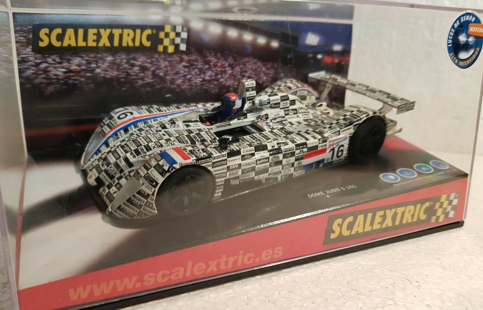 Qq 6116 SCALEXTRIC DOME S 101 JUDD HOLLAND LE MANS '02
