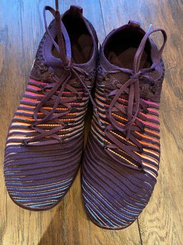 Women's Purple Rainbow Nike Free RN Flyknit Transf