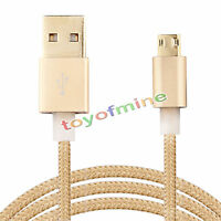 Double Sided Plugable USB Micro B Charger Cord Reversible Micro USB Data Cable