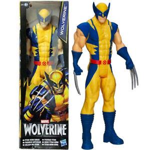 30cm-Marvel-Superheld-X-Men-Wolverine-Action-Figur-Figuren-Kinder-Spielzeug