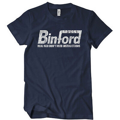 BINFORD TOOLS Womens T-Shirt Funny Cotton Adult Tee Sizes S-2XL