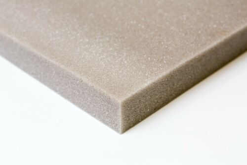 Upholstery foam supplies sheets High density foam seat pads select any size GREY