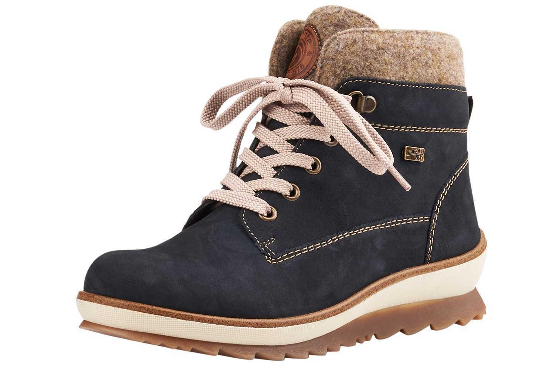 Remonte botines en talla extragrande extragrande extragrande grandes zapatos señora azul XXL  promocionales de incentivo