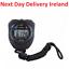 Waterproof-Digital-LCD-Stopwatch-Chronograph-Timer-Counter-Sports-Alarm-Counter thumbnail 1