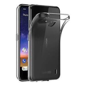 Transparent-Cover-fuer-Nokia-2-2-Handy-Huelle-Silikon-Case-Schutz-Tasche