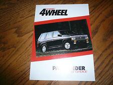 1991 March Nissan Pathfinder Petersen's 4Wheel Article