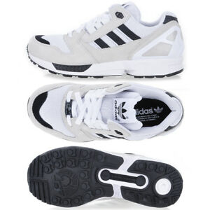half off 1c744 37b8a Image is loading Adidas-S82819-Men-ZX-8000-Running-shoes-black-
