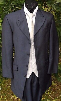 Einfach Mj-202 Navy Blue Mohair Prince Edward 2piece Suit Wedding / Formal / Event