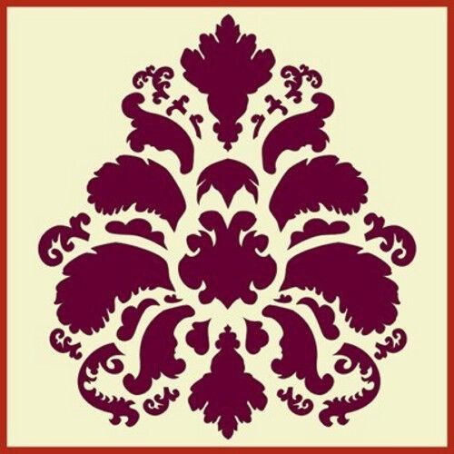 DAMASK 7 STENCIL- LARGE- Versailles- The Artful Stencil