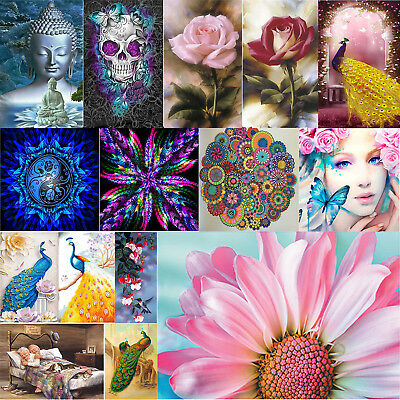 5d Diy Full Drill Diamond Painting Diamant Rose Sweet Home 2 Buddha