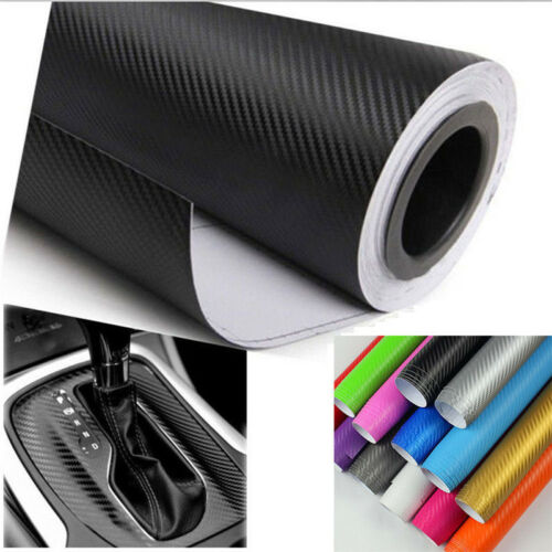 Autocollant rouleau voiture film vinyle matte fibre de carbone BB