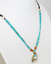 Silpada-925-Sterling-Silver-Turquoise-Glass-Beads-Leather-Brass-Necklace-N2106 thumbnail 4