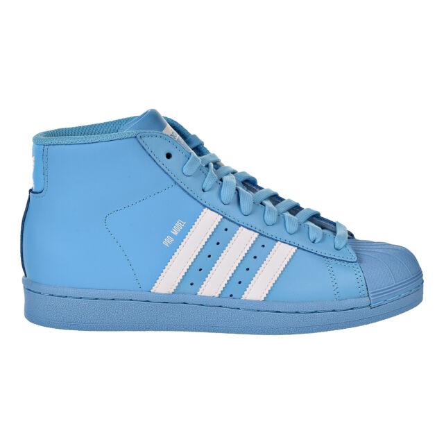 en soldes 35115 1fdfb Adidas Originals Pro Model Big Kids Basketball Shoes Cyan/Core White/Cyan  B39373