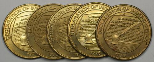 1999 Declaration of Independence Sunoco Millennium Coin Series Token