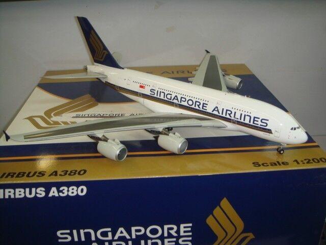 il miglior servizio post-vendita JC Wings 200 Singapore Airlines Airlines Airlines SQ A380-800   primero A380  1 200 DIECAST 9V-SKA  acquisto limitato