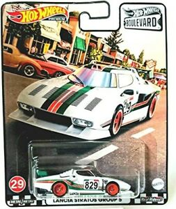 Hot Wheels Lancia Stratos Boulevard Premium Real Riders Collection 1/64 Uk Stock