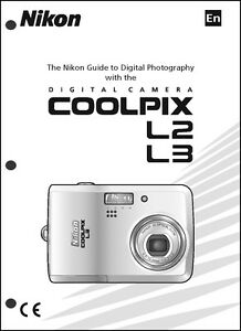 nikon coolpix l2 l3 digital camera user guide instruction manual ebay rh ebay com nikon digital camera d60 user manual nikon digital camera d40 instruction manual