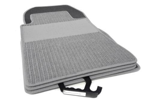 Rips grau Fußmatten Mercedes CLS C219 ab 09.04-12.10 Original Qualität Ripsmatte
