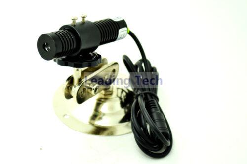532nm 50mw grünes Laserdiodenmodul 5v 18x75mm mit Netzteil und Kühlkörper
