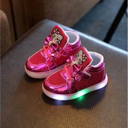 Luminous Children Shoes Glowing Sneakers For Kids Baby Girl Shoes With Lights