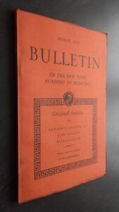 Notiziario-Of-I-N-York-Academy-Of-Medicina-Marzo-1950-Be