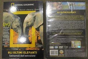 Gli-ultimi-elefanti-National-Geographic-50-min-DVD-NUOVO-SIGILLATO