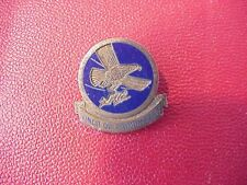 ORIGINAL WWII GLIDER TROOPS STERLING DUI INSIGNIA PIN - LEVELLE