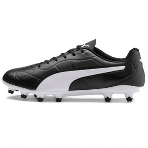 PUMA-Men-039-s-Monarch-FG-Black-White-10561001